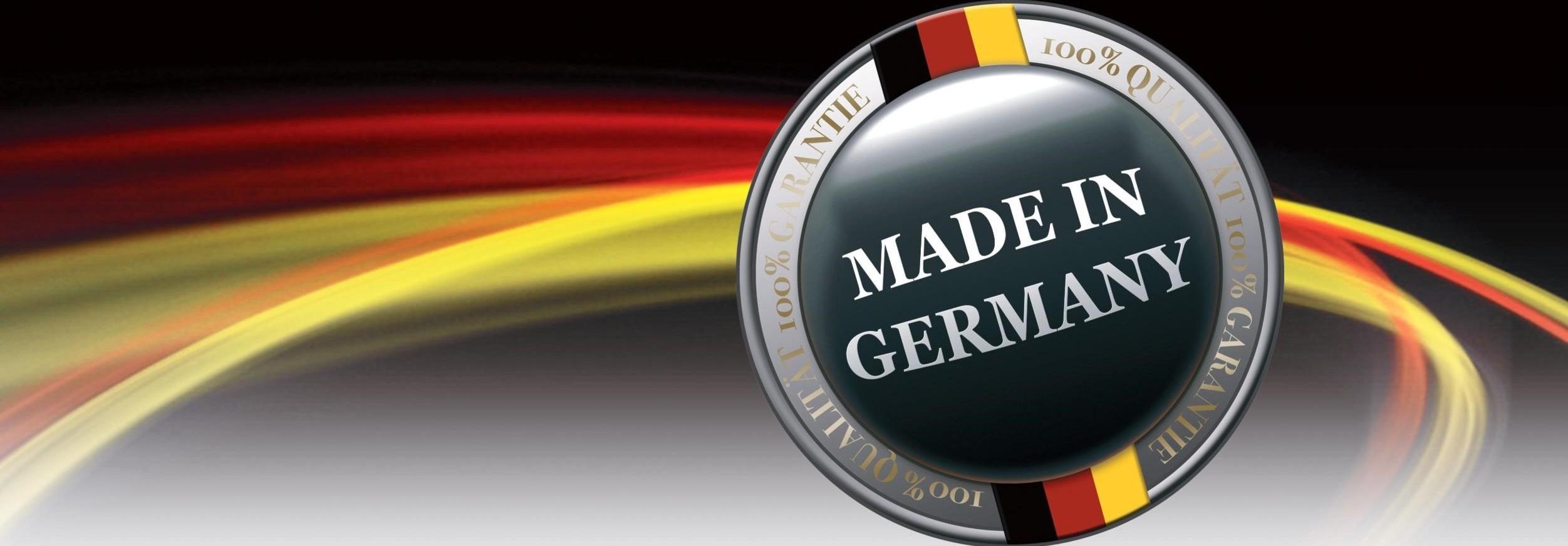 Qualität  –  in Deutschland hergestellt