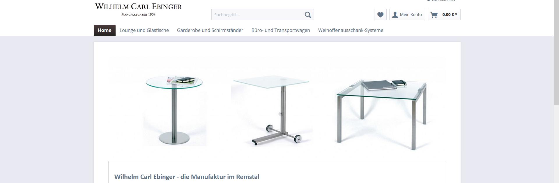 Unser neuer Online-Shop